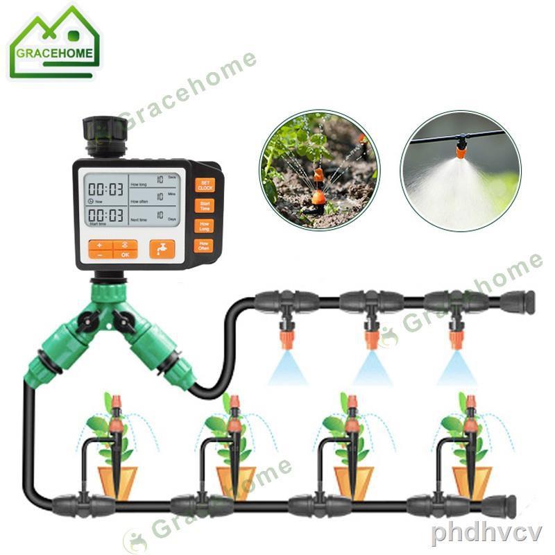 ⊕☞เครื่องรดน้ำอัตโนมัติ Garden Water Timer เครื่องตั้งเวลารดน้ำต้นไม้ อุปกรณ์รดน้ำ รถน้ำอัตโนมัติ ที่รดน้ำต้นไม้อัตโนม