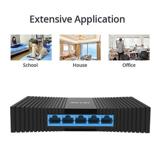 TLINK 5ort deskto Gigabit Switchs Ethernet 10/100/1000Mbs RJ45 ort Easy Smart Network Switch LAN Hub TLSG1005M 0xW9