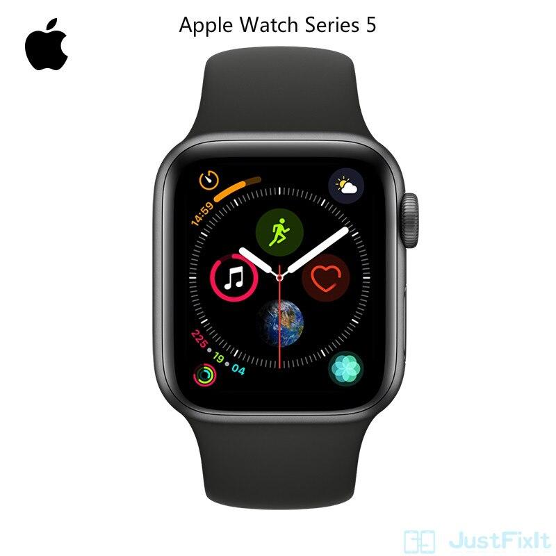 สายรัดข้อมืออลูมิเนียมสําหรับ Apple Watch Series 5 S5 Gps Wifi - Only