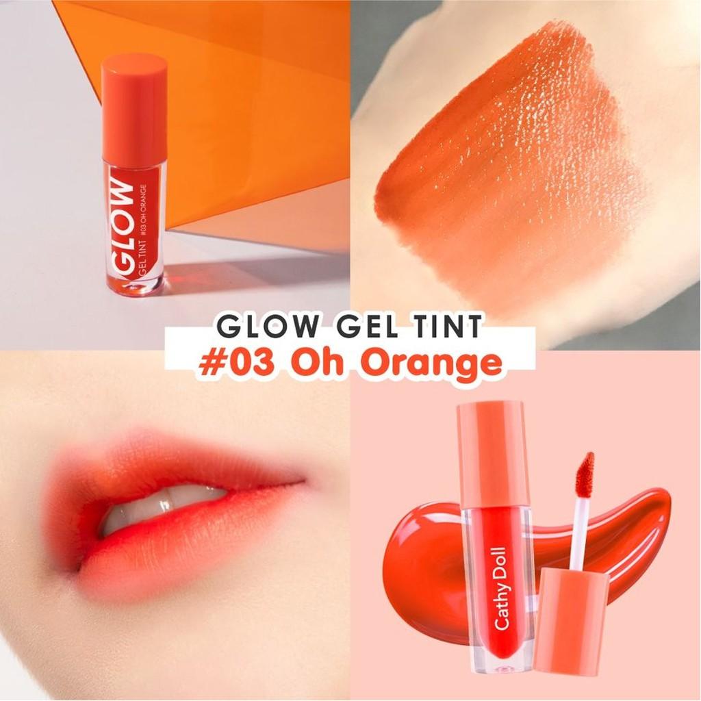 ลิปทินท์เนื้อฉ่ำ เคที่ดอลล์ โกลว์ เจลทินท์ Cathy Doll Glow Gel Tint 2.4 g.
