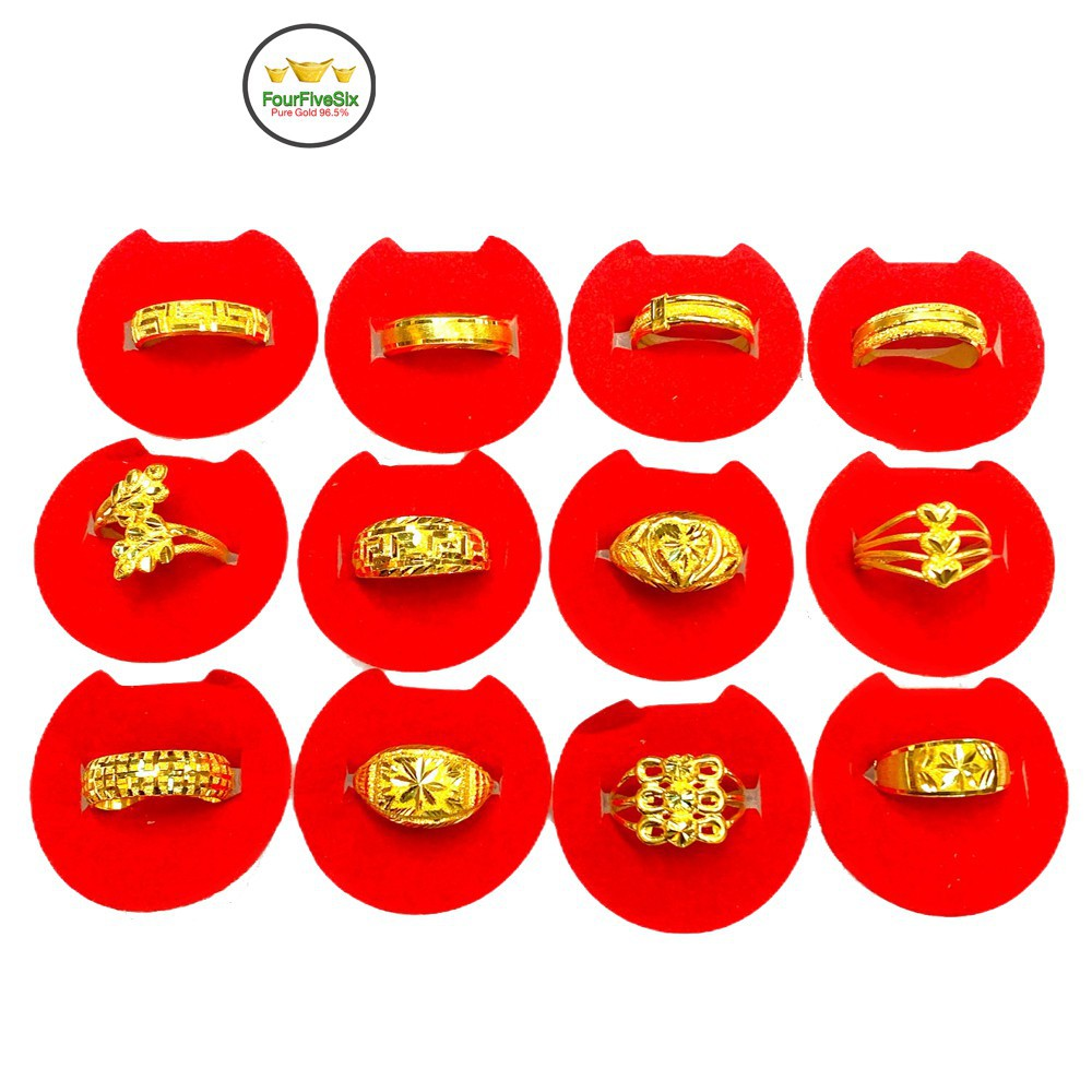 ราคาพิเศษ✻☎Flash Sale แหวนทองครึ่งสลึง แจ้งลายทางแชท หนัก 1.9 กรัม ทองคำแท้96.5%