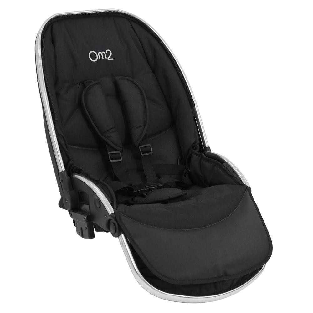 BabyStyle Tendam seat for Oyster MAX - สีPure Silver