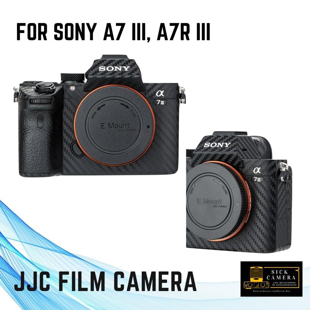 JJC Carbon Fiber Film กันรอยบอดี้กล้อง Sony A7 III, A7R III