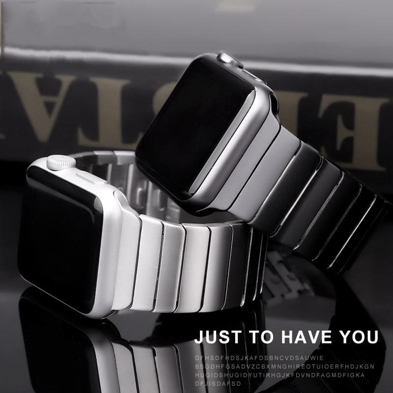 สายนาฬิกาข้อมือสแตนเลสสตีลสําหรับ Apple Watch Band 44 มม. 40 มม. Iwatch 42 มม. 38 มม. Gen . 6 Th Series 5 4 3 2 1