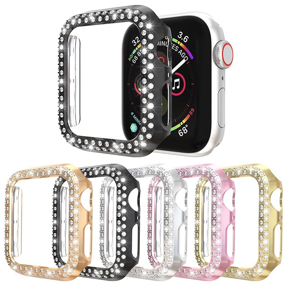 เคส Apple Watch Case Luxury Diamonds Apple Watch Cover iWatch 6 5 4 3 2, Apple Watch SE PC 38mm 40mm 42mm 44mm Bing Case applewatch เคส