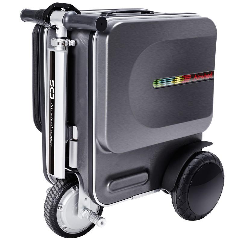 HiHome Airwheel SE3 (Black) กระเป๋าเดินทางอัจฉริยะที่คุณสามารถขับขี่ไปได้ด้วย รับประกันศูนย์ไทย 1 ปี กระเป๋าล้อลากไฟฟ้า