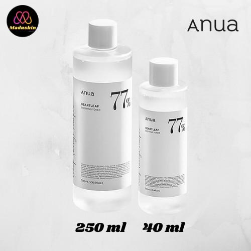 🌷 ANUA : แท้พร้อมส่ง Heartleaf 77% Soothing Toner โทนเนอร์พี่จุน ( ฉลากไทยของแท้ 100%)