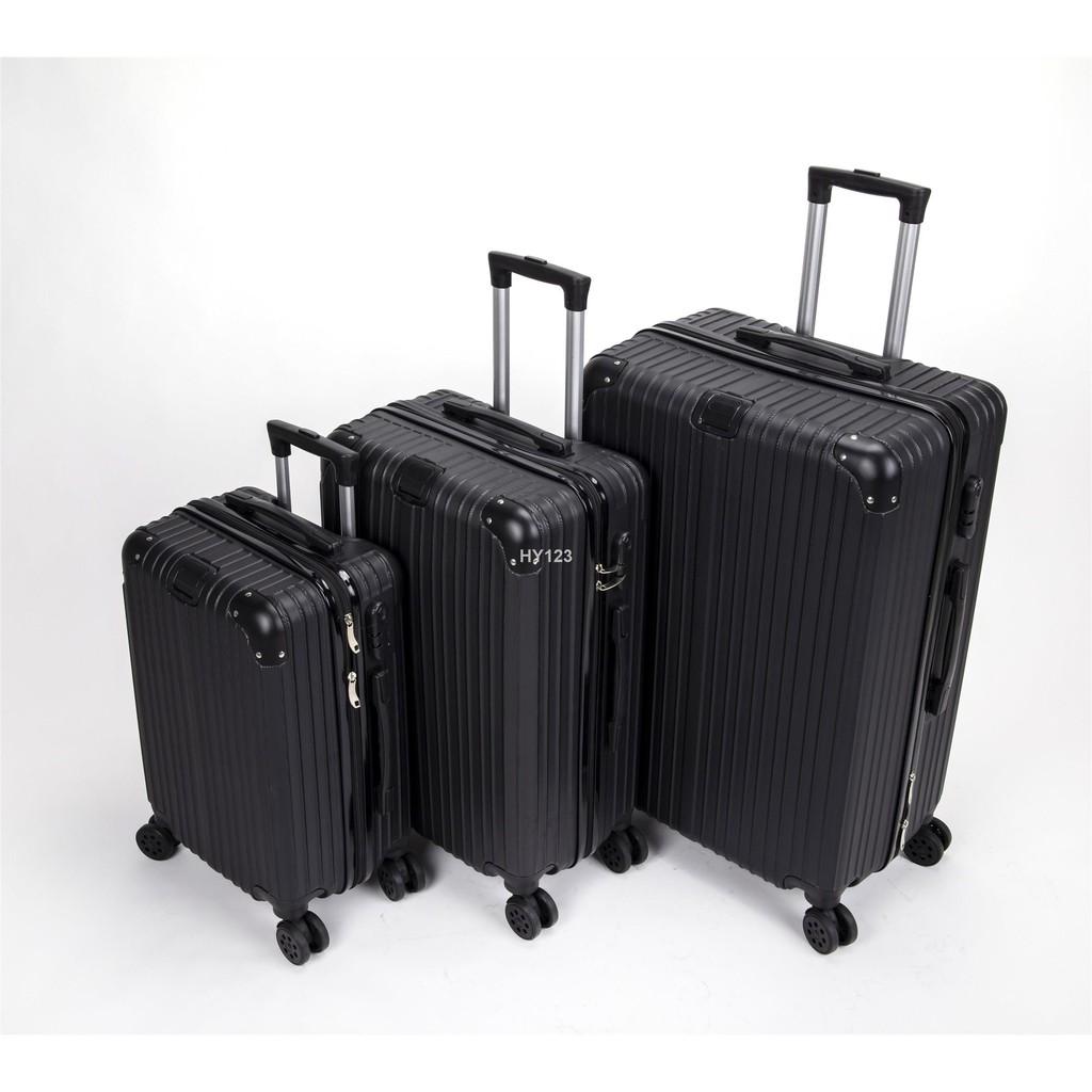 ส่งจากกรุงเทพ❈∏✳กระเป๋า20นิ้ว 24นิ้วกระเป่าเดินทาง กระเป๋าเดินทางล้อลาก กระเป๋าเดินทาง4ล้อ กระเป๋าเดินทางกันน้ำ กระเป๋