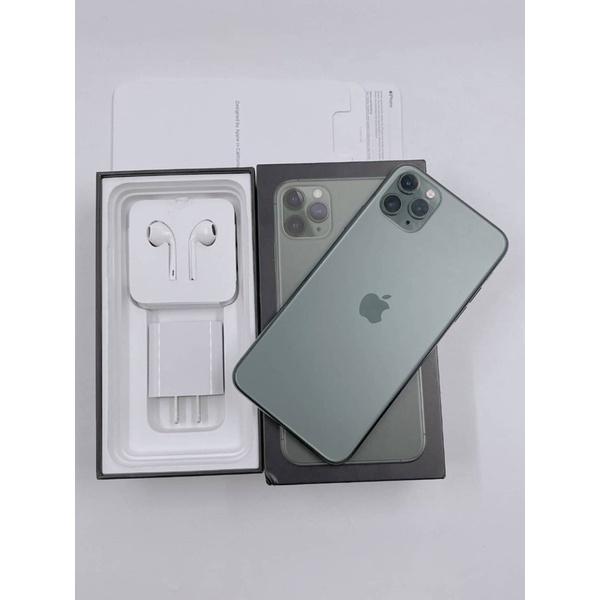 #5733 iPhone 11 Pro Max (64gb) สีเขียว มือสอง เครื่องศูนย์ไทย TH 🇹🇭 ประกันศูนย์เหลือ สวยครบกล่อง การใช้งานปกติทุกอย่าง 📲