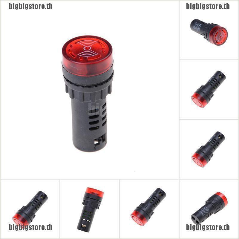 bigstore แผงเมาท์ไฟแสดงสถานะ led buzzer 12v 24v 110 v 220 v buzzer