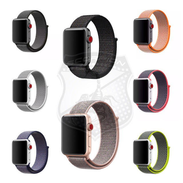 ✅🔥💥☎✴🔥พร้อมส่ง🇹🇭 สาย Apple Watch Nylon Sport Band for Series 1,2,3,4,5
