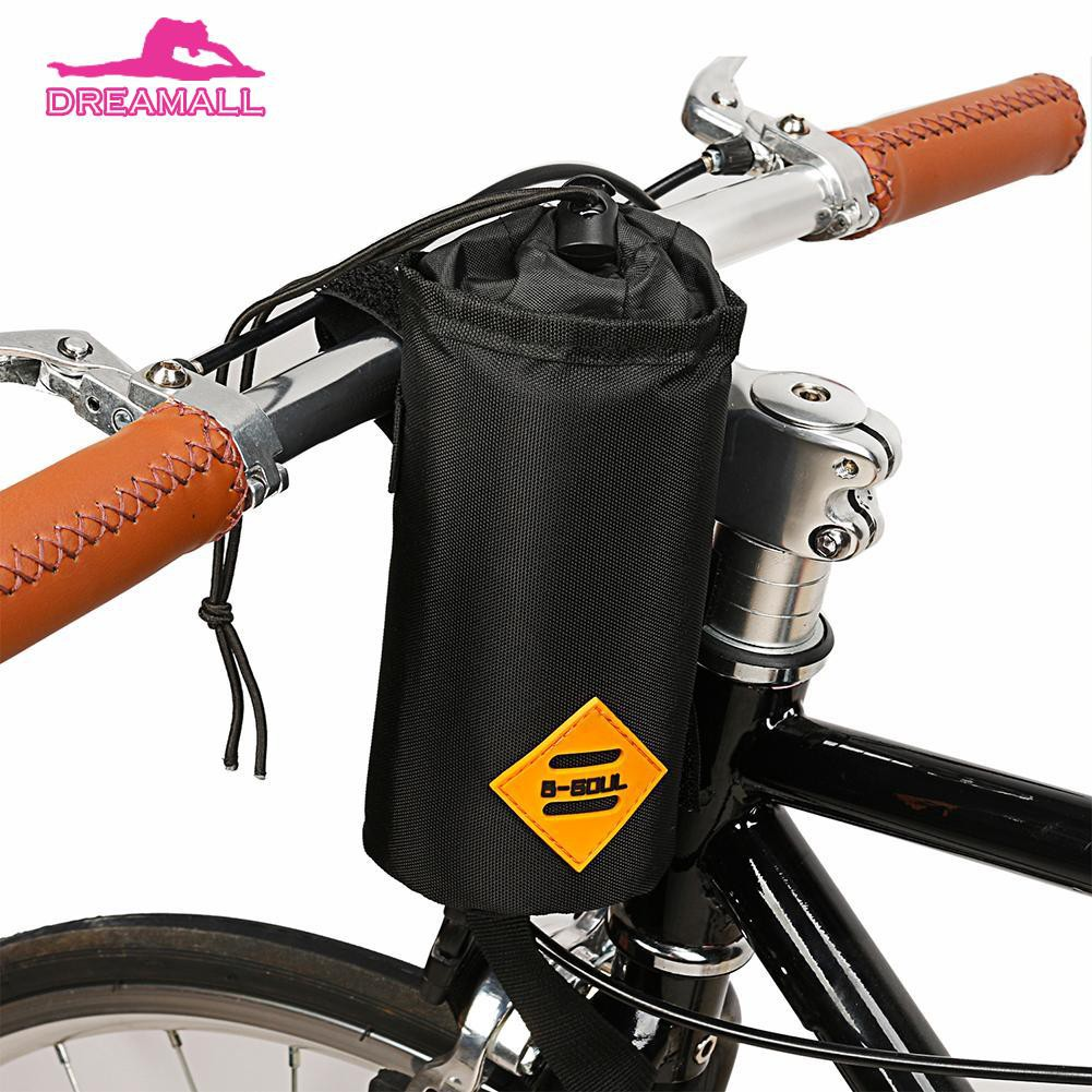 B SOUL Road Bike Front Handlebar Water Bottle Cup Insulation Bag Cycling Bicycle
