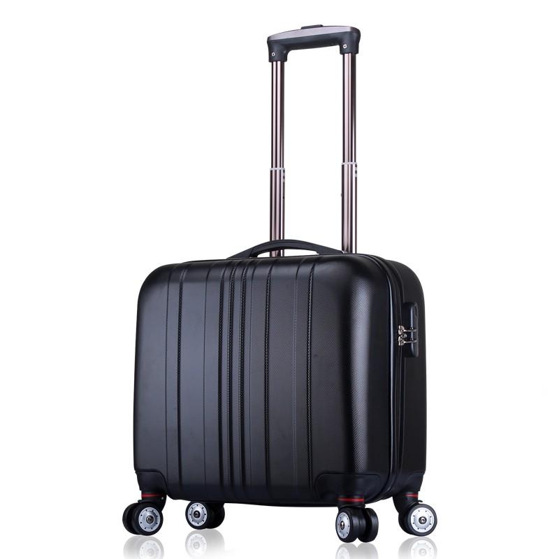นิ้ว กระเป๋าลาก กระเป๋าเดินทางล้อคู่ แข็งแรง ยืดหยุ่นสูง น้ำหนัก宋人กระเป๋ามินิ16นิ้วล้อสากลกรณีรถเข็นรหัสผ่านระยะสั้นกระเ