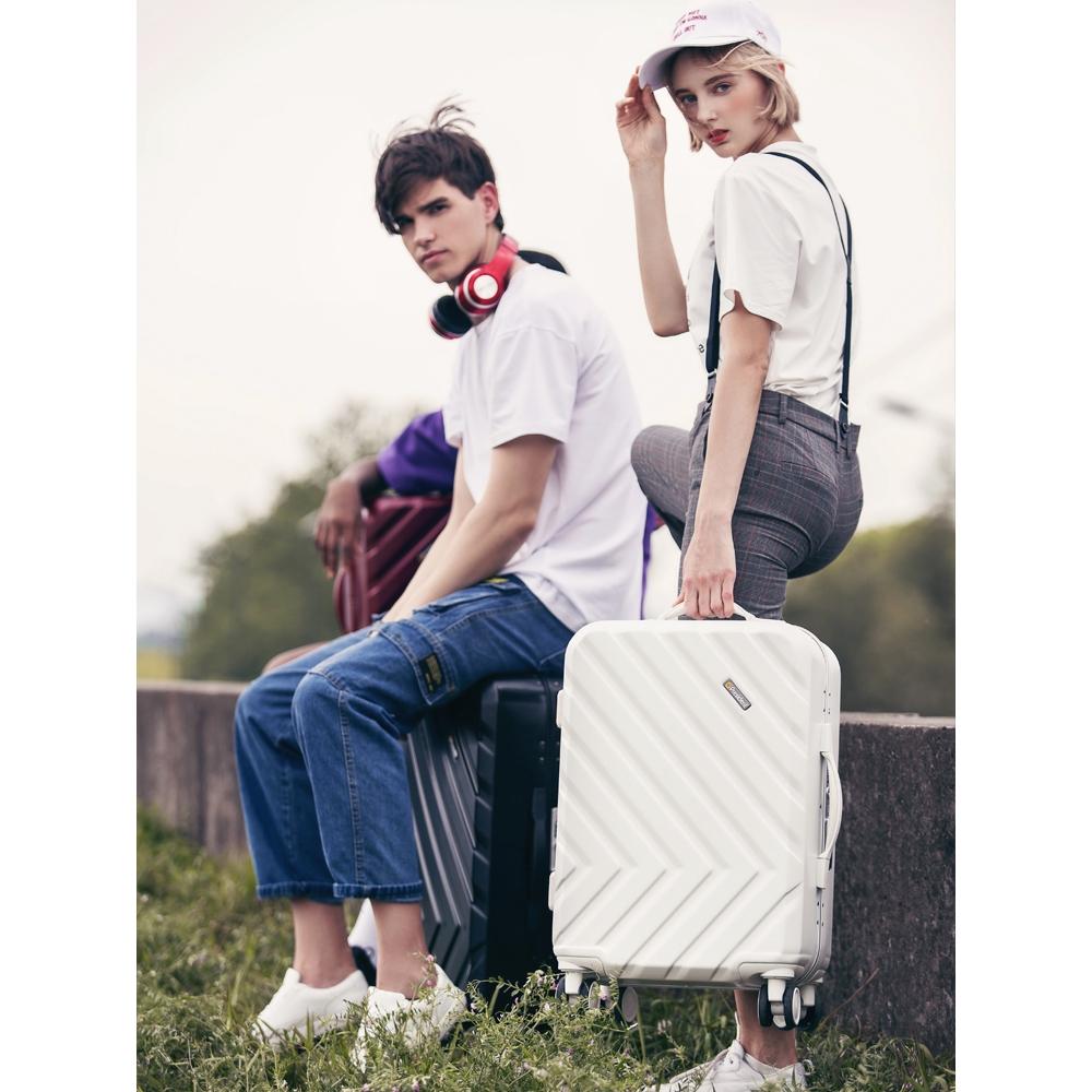 ▲กระเป๋าเดินทาง Japan Xiuling Internet กระเป๋าเดินทางคนดังกระเป๋าเดินทางล้อลากหญิง 24 นิ้วกระเป๋าเดินทางน้ำนักเรียนกินนอ
