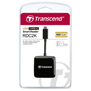 Transcend Smart Reader RDC2K Type C