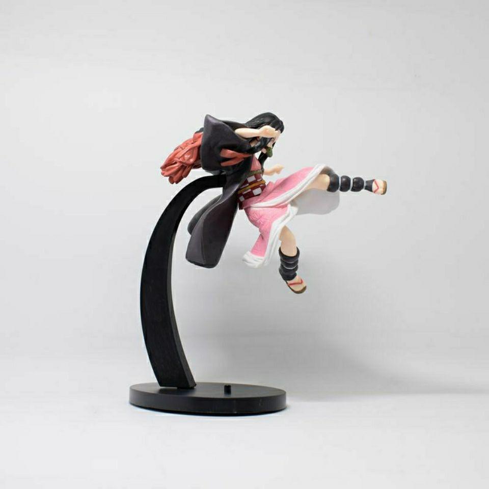 ✜✑Anime wholesale Demon Slayer Blade Kadomon Nidouzi Combat Version Doll Model Boxed Figure