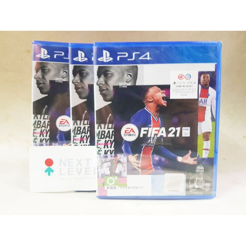 PS4 FIFA 21 STANDARD EDITION | Z3/Asia มือหนึ่ง มีของ พร้อมส่ง
