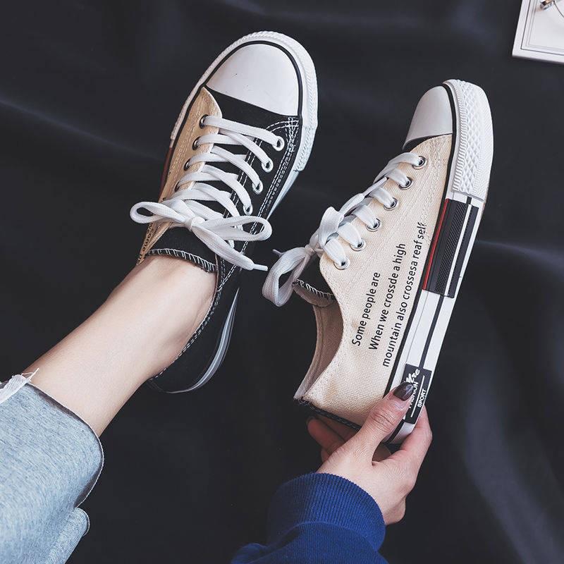 รองเท้าผ้าใบทรง รองเท้าคัชชูผู้ชาย รองเท้าชายเวอร์ชั่นเกาหลีของร้อยนักเรียนรองเท้าผ้าใบแนวโน้มรองเท้าเด็กชายสังคมคณะกรรม