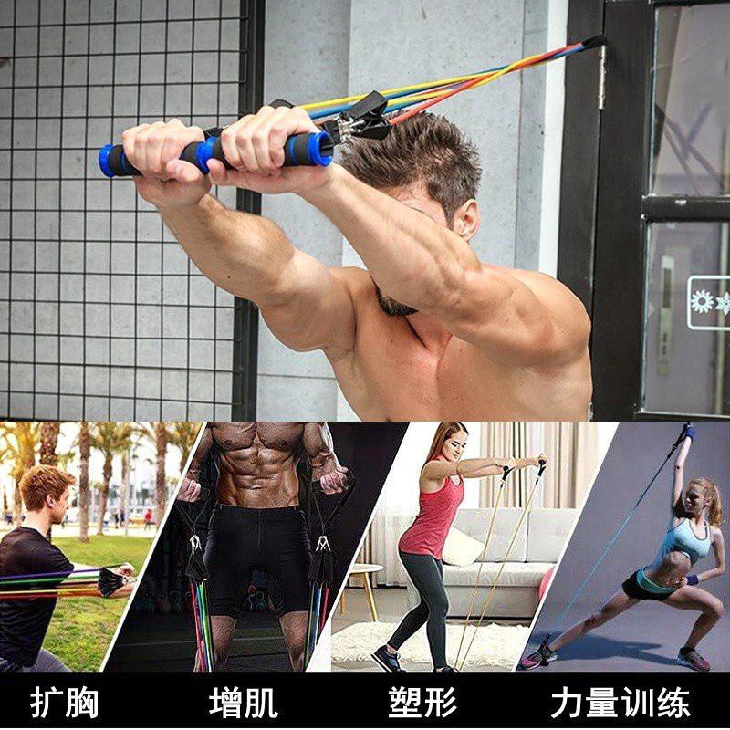 โยคะ○เชือกยางยืดฟิตเนสชายอุปกรณ์ออกกำลังกาย เชือกยืดหญิง แถบยางรัดแขน สายรัดแขน การฝึกกล้ามเนื้อ การฝึกความแข็งแรง ดึง