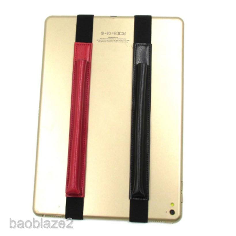 [BAOBLAZE2] For Apple Pencil 12.9'' iPad Pro Case Holder Leather Elastic Pencil Pocket