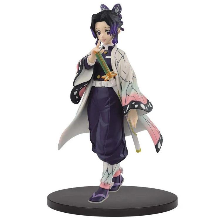 Demon Slayer GK Scene Statue Kochou Shinobu Figure Model Desktop Decoration