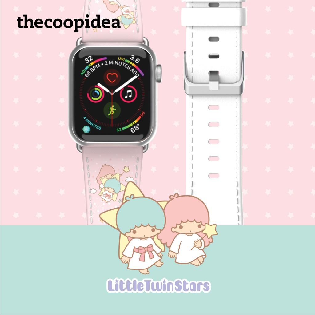 Thecoopidea X สายนาฬิกาข้อมือสําหรับ Apple Watch 42 / 44 มม . - Little Twin Stars ( 2 ชุด )