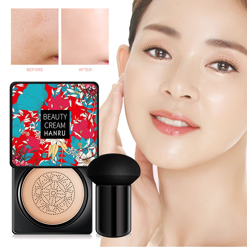 [COD] Beauty Cream EXO TOO BB Cream คุชชั่น แป้ง BB ครีมพร้อมแปรงหัวเห็ดเพื่อเพิ่มความสว่างให้กับผิว