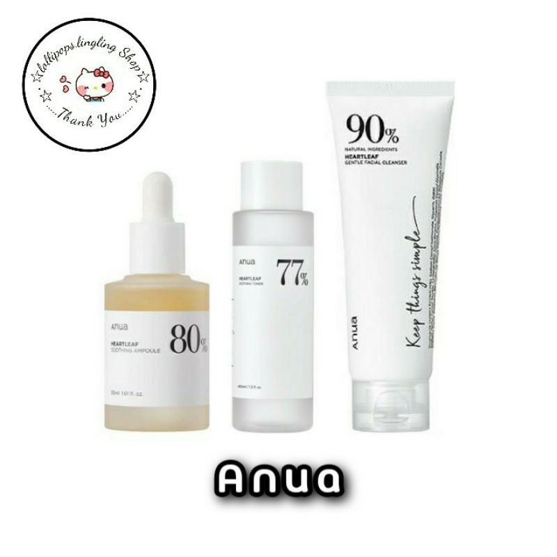 ★Anua★ Toner / Ampoule / Cleanser