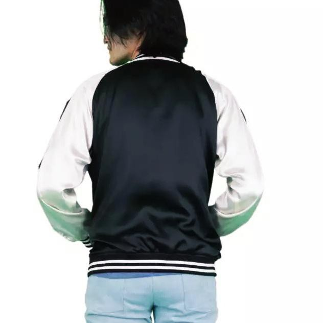เสื้อแจ็คเก็ต Sukajan ธรรมดา   เสื้อ Bomber Jacket (')