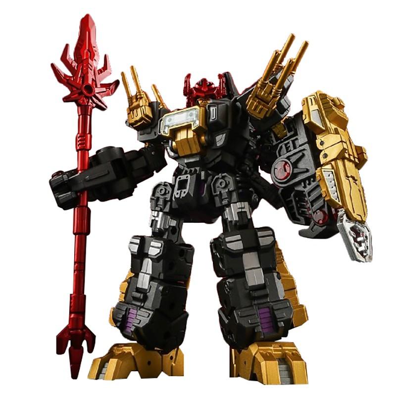 รูป:IronFactory EX18D Lord Scorion Dark Matter Ver.Transformation Action Figure Toy 18cm ABS Model Deformation Car Robot