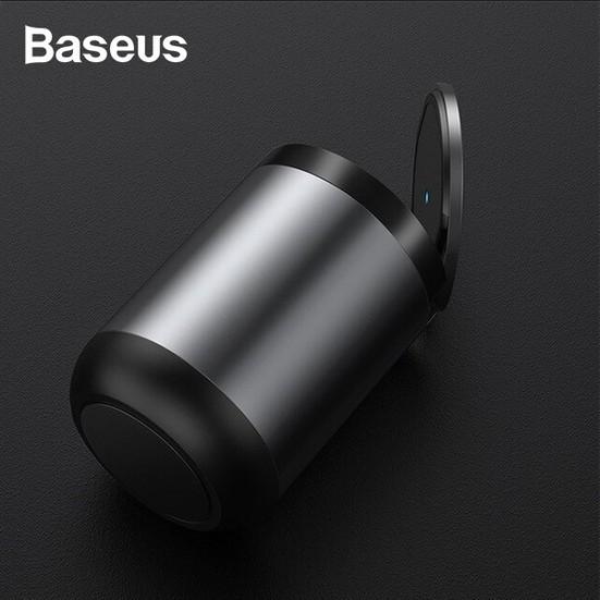 ที่วางและเก็บของในรถยนต์# Baseus Cylinder Holder Ashtray Cigarette CRYHG01-01 ที่เขี่ยบุหรี่ภายในรถ มีไฟ LED ที่เขี่ยบุห