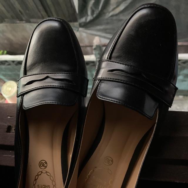 รองเท้าคัชชูดำเบอร์38