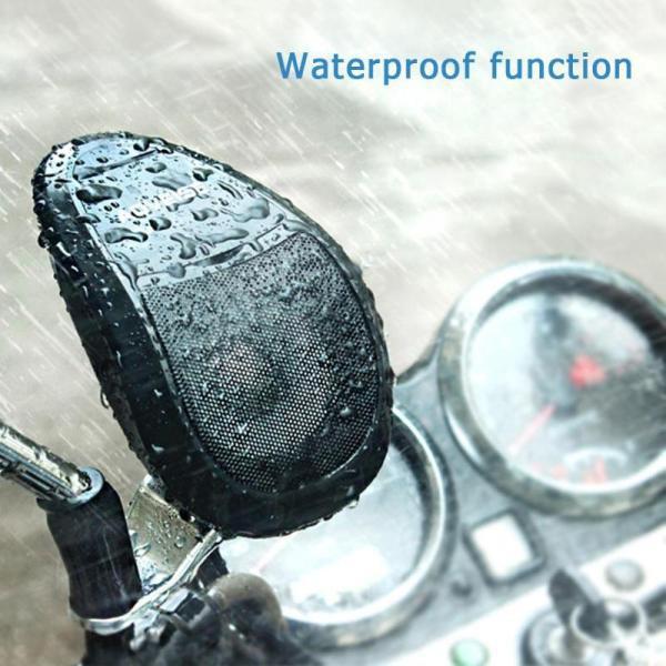 Motorcycle Waterproof Portable MP3 Music Audio Player Speaker