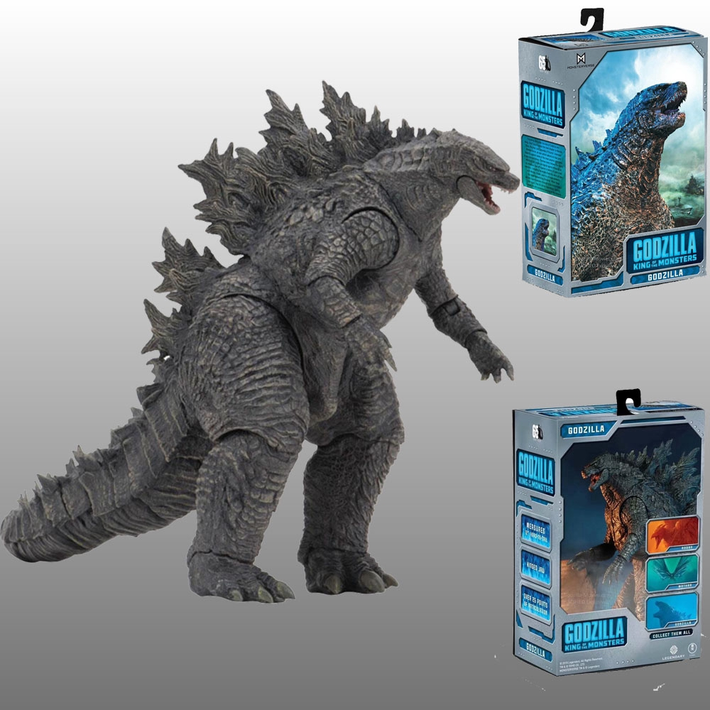 NECA Movie Godzilla Toys 2019 PVC Action Figure Movable Doll Model Jongens Kids Kind Speelgoed Cartoon Figure 18CM