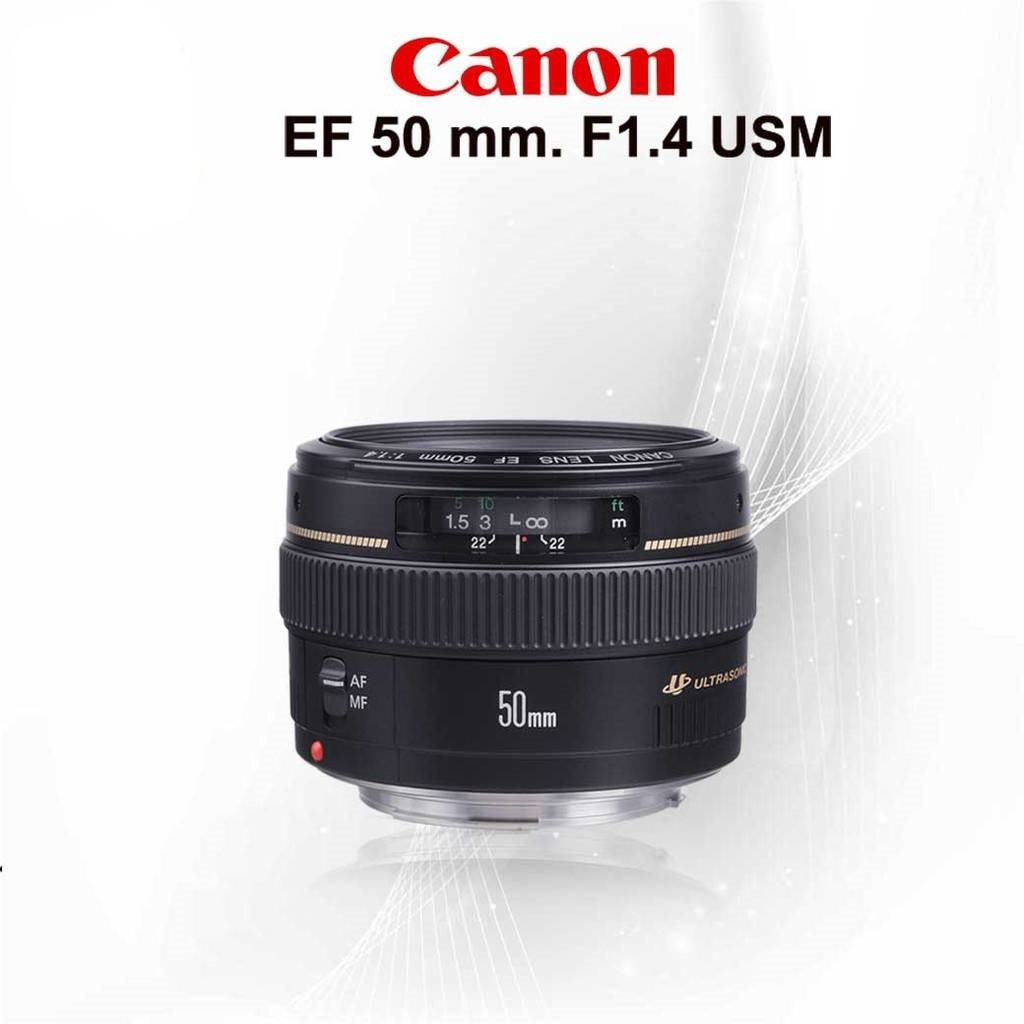 Canon Lens EF 50 mm. F1.4 USM - รับประกันร้าน  1ปี