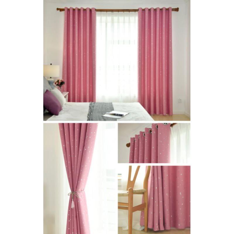 ผ้าม่าน﹢ (ล้างสต็อก) ผ้าม่าน ประตูหน้าต่าง ขนาดผ้าก่อนเย็บ ผ้าม่านเจาะตาไก่ ทึบแสง กันแดด กันUV ผ้าม่านสำเร็จรูป