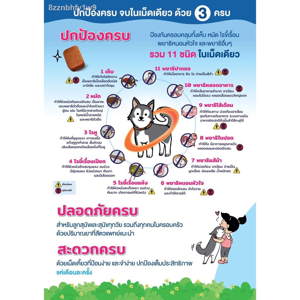 【ขาย】▨✺Nexgard Spectra Dog 15-30 kg สำหรับเหินหมัดเจาะมวลสำหรับสุนัขน้ำหนัก กิโลกรัม