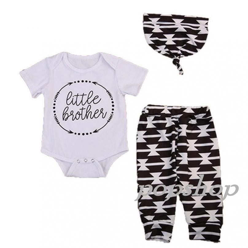 "/""Little Brother/"" 3 piece set for boys"