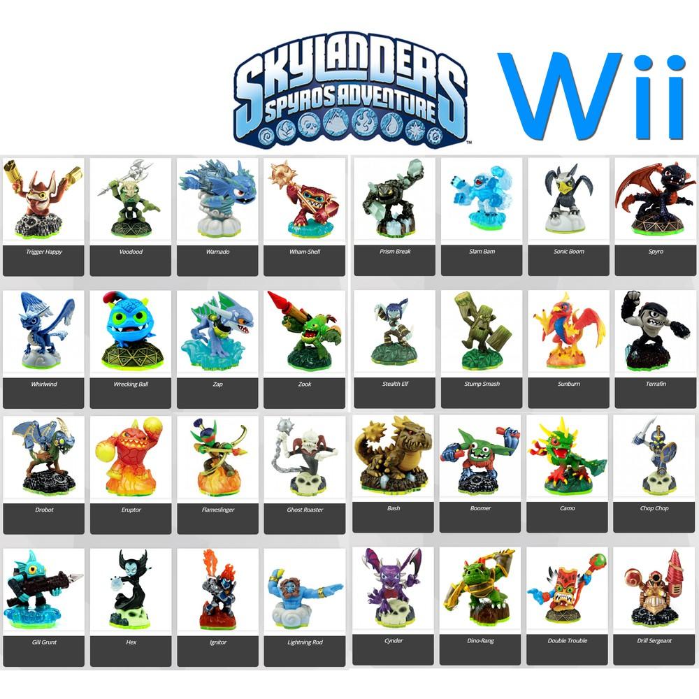 หุ่น Skylanders ภาค Spyro's Adventure / Skylanders Figure - Spyro's  Adventure