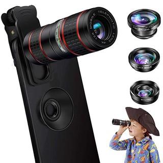 the latest 9f170 640df ชุดเลนส์กล้อง 5 in 1 สำหรับ iPhone X XS Max XS XR 8 7 Samsung Andriod