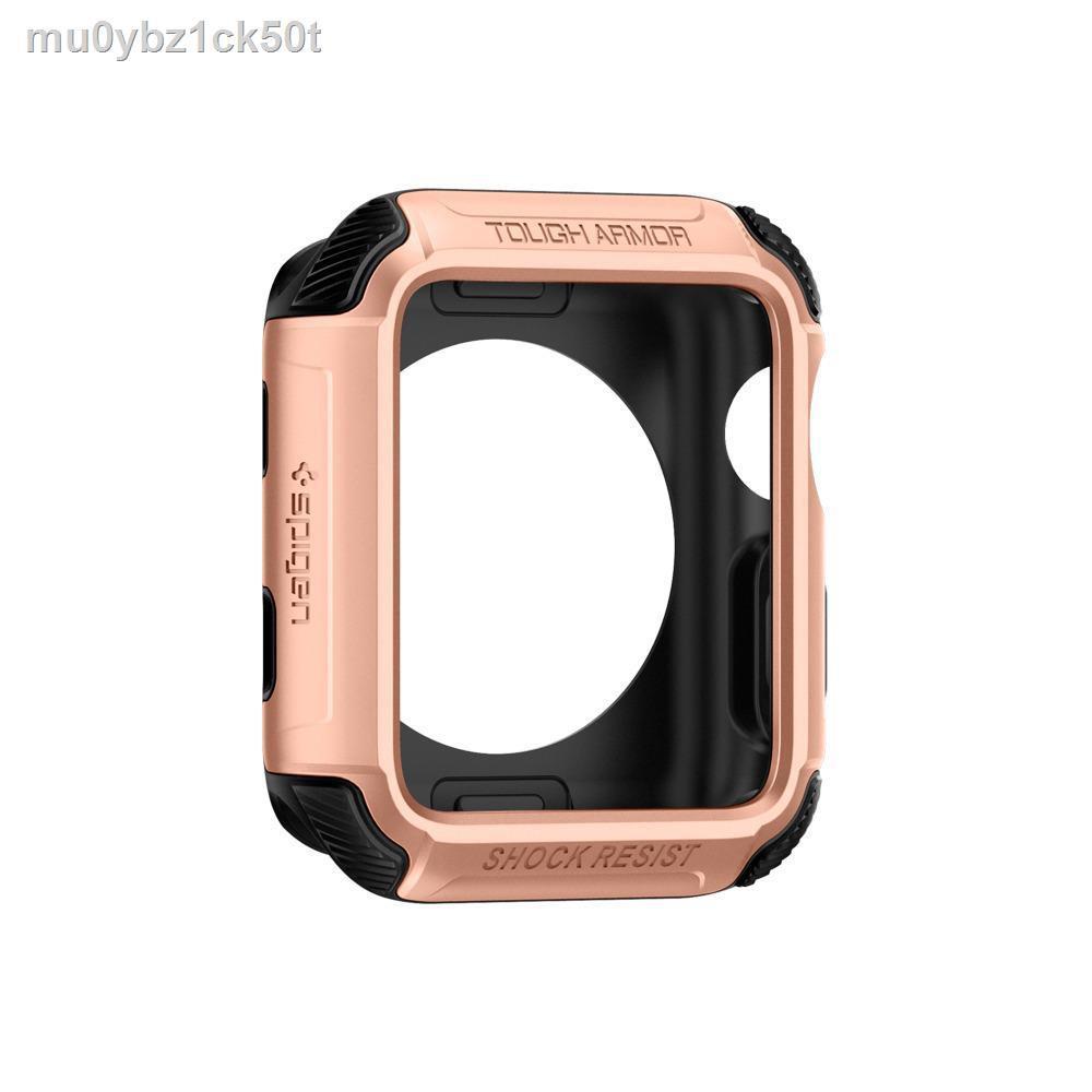 🔥มีของพร้อมส่ง🔥ลดราคา🔥✼❆SPIGEN เคส Apple Watch Series 3 & 2 (42mm.) Case Tough Armor11
