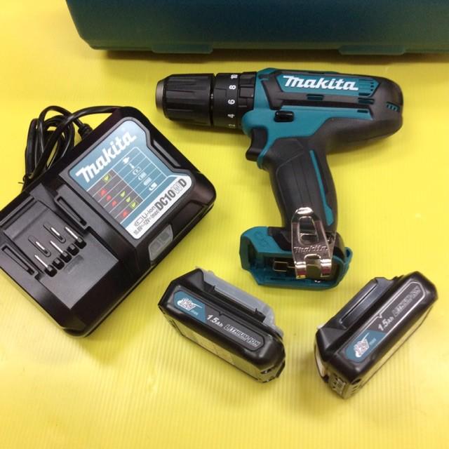 สว่านไฟฟ้าไร้สาย สว่านไร้สาย สว่านไฟฟ้า MAKITA สว่านไร้สายเจาะกระแทก HP333DWYE 12 V สว่านไร้สาย รุ่นกระแทก ใหม่สุดปรับทด