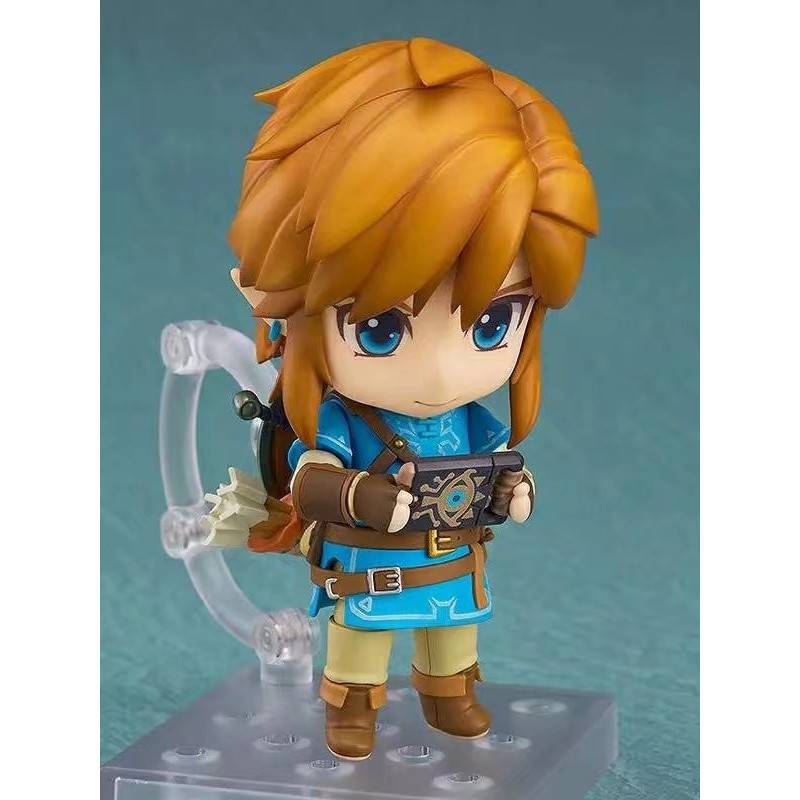 Nendoroid 733-DX Legend of Zelda Breath of the Wild Ver  DX Edition Link  Figure