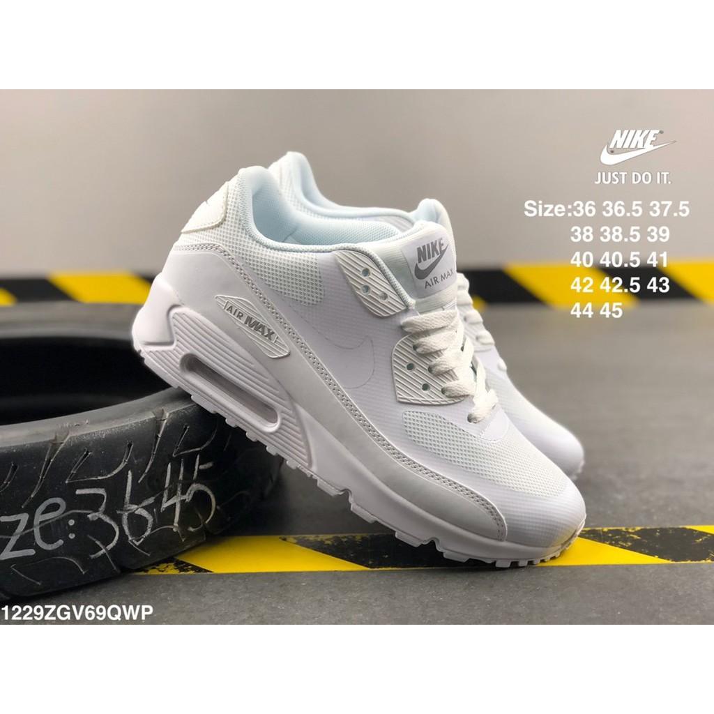 NIKE AIR MAX 90 OG รองเท้าผ้าใบรองเท้ากีฬารองเท้าออกกำลังกายจัดส่งฟรีเพิ่มผู้ชายและรองเท้าผู้หญิงของแท้