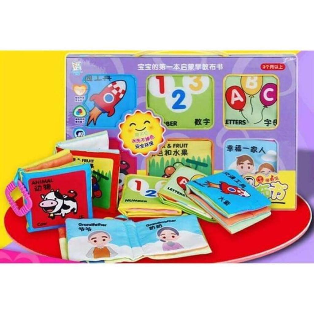 Crafts Books เซ็ทหนังสือผ้า 6 เล่มrafts Books เซ็ทหนังสือผ้า 6 เล่ม