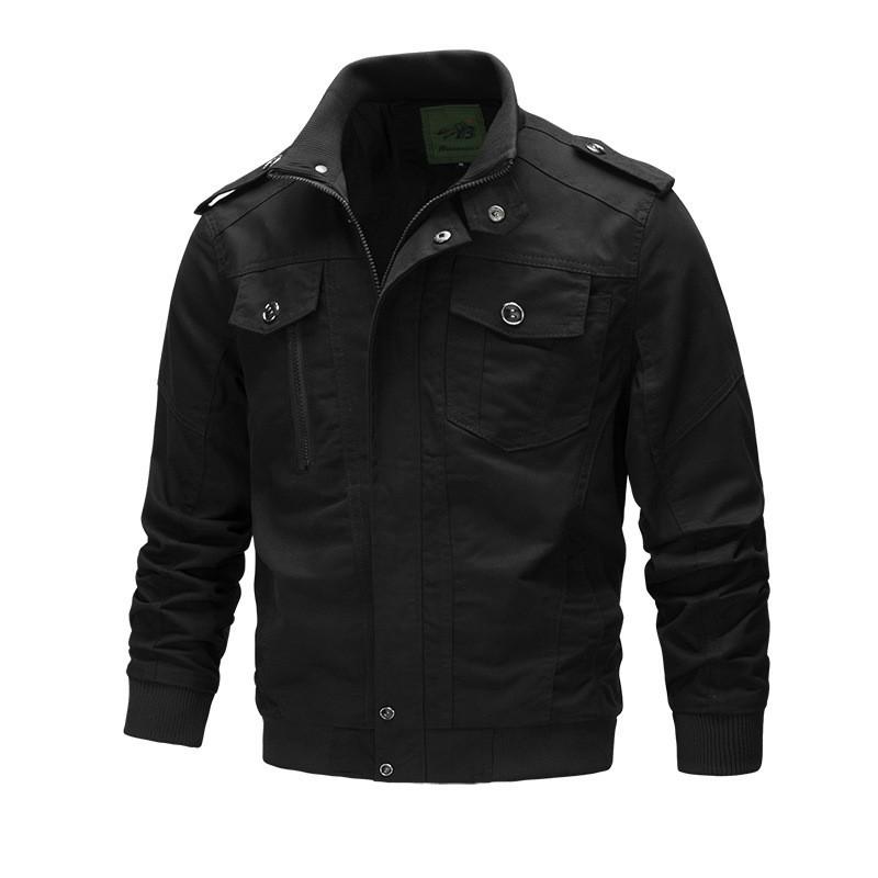 Men Winter Autumn Tactical Bomber Coat Male Flight Jacket