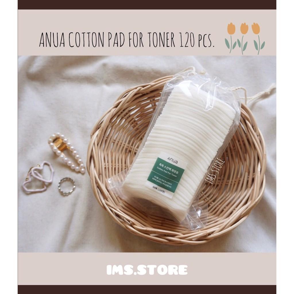 โปร 8.8 [พร้อมส่ง] ☁Anua cotton pad for toner 120pcs.☁