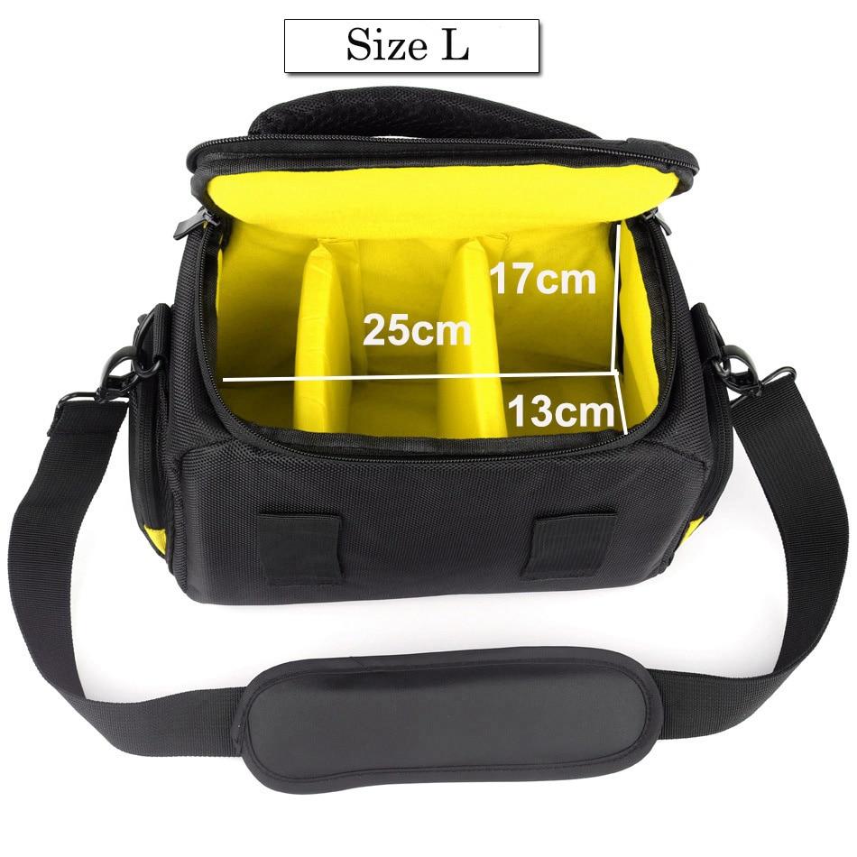 Shoulder Bag For DSLR Cameras Nikon D3500 D500,D3400 D5300 D5600 D610 D7200 D750