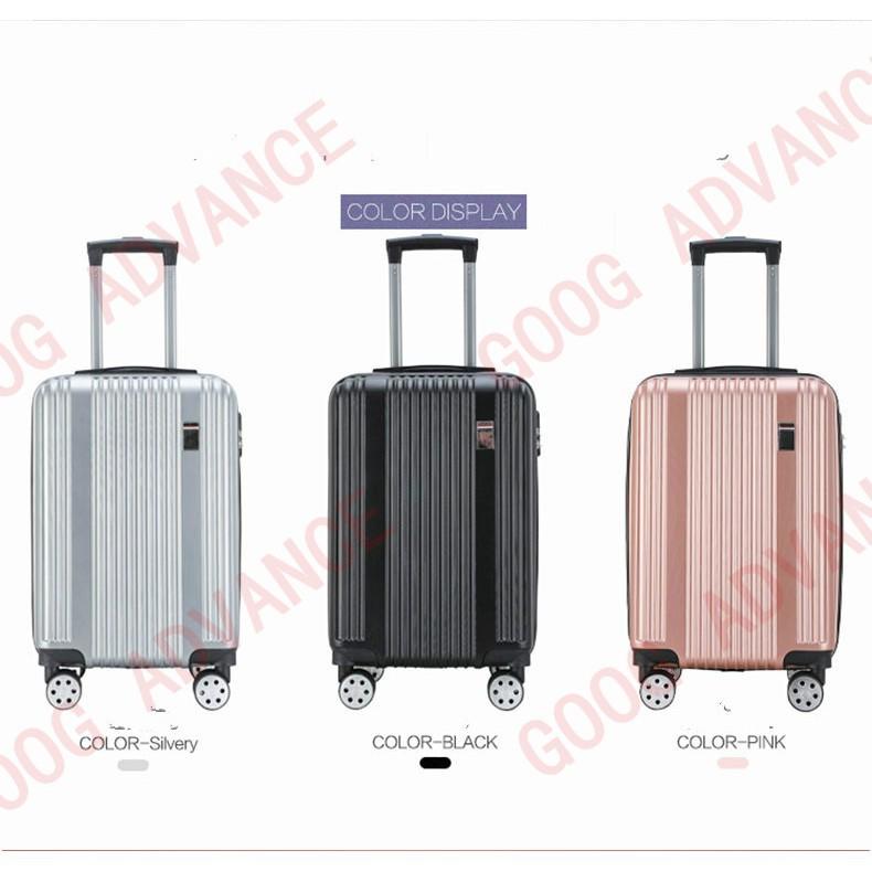 ▣❖กระเป๋าเดินทาง กระเป๋าเดินทางล้อลาก  กระเป๋าล้อลาก 8 ล้อคู่ หมุนได้ 360 องศา