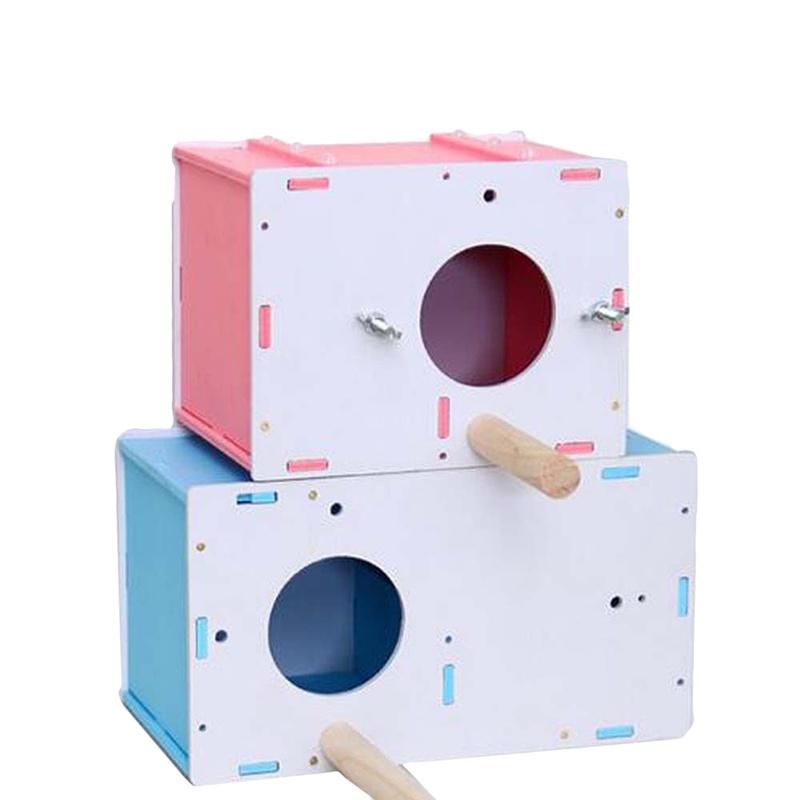 กล่องเพาะพันธุ์เพาะพันธุ์นกแก้ว Cockatiel Nesting